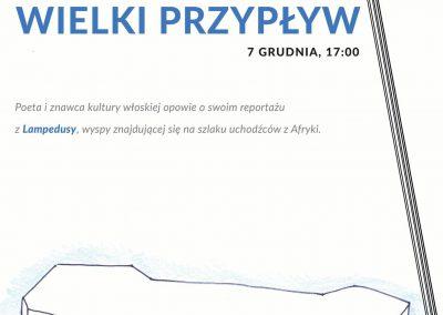 Spotkanie z Jarosławem Mikołajewskim plakat