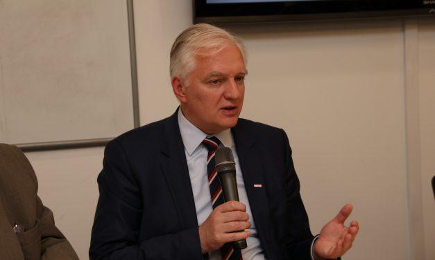 22 czerwca: Spotkanie z Jarosławem Gowinem, Wicepremierem Rządu RP, Ministrem Nauki i Szkolnictwa Wyższego