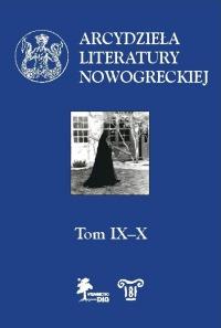 Arcydzieła literatury nowogreckiej. T. IX–X okładka