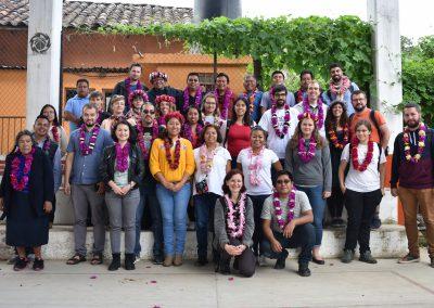 Participantes de la Escuela de Campo en México