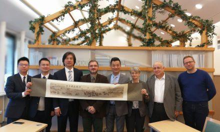 Delegacja Uniwersytetu Szanghajskiego (Shengdu)