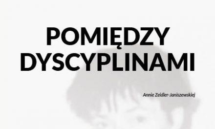 """27 października. Seminarium """"Pomiędzy dyscyplinami"""""""