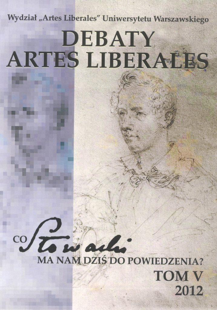 Debaty Artes Liberales – tom V