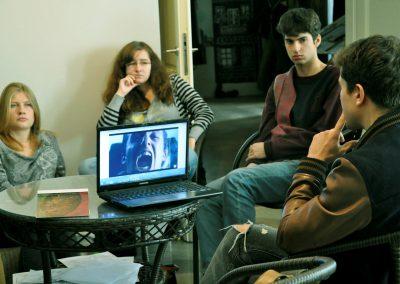 warsztat artystyczny - filmowy