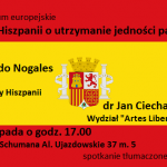 Seminarium: walka Hiszpanii o utrzymanie jedności państwa