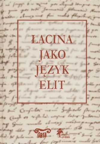 Łacina jako język elit okładka