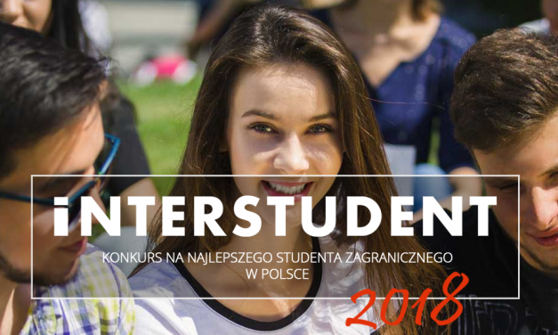 """Konkurs """"Interstudent 2018"""""""