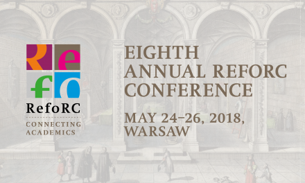 24–26 maja: 8th Annual RefoRC Conference
