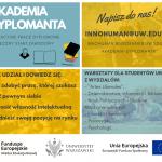 """""""Aplikacyjne prace dyplomowe – skuteczny start zawodowy"""": nowe rekrutacje"""
