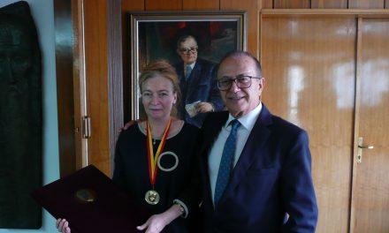 The International Award: Gold Medal Blaže Koneski