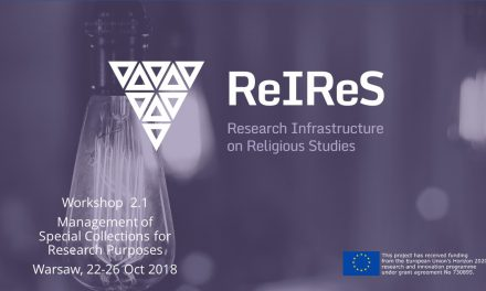 Warsztaty w ramach projektu ReIReS (Research Infrastructure on Religious Studies)