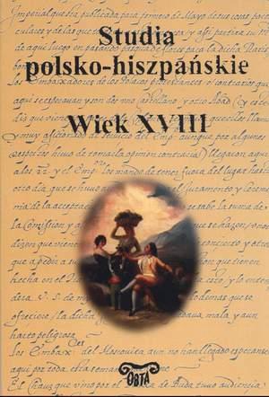 Book Cover: Studia polsko-hiszpańskie. Wiek XVIII