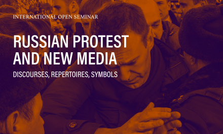 Russian Protest and New Media: Discourses, Repertoires, Symbols