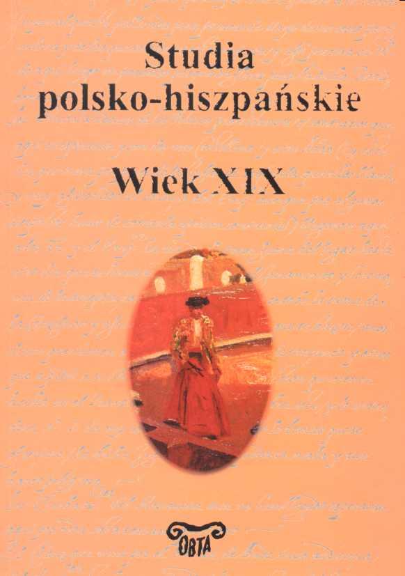 Book Cover: Studia polsko-hiszpańskie. Wiek XIX