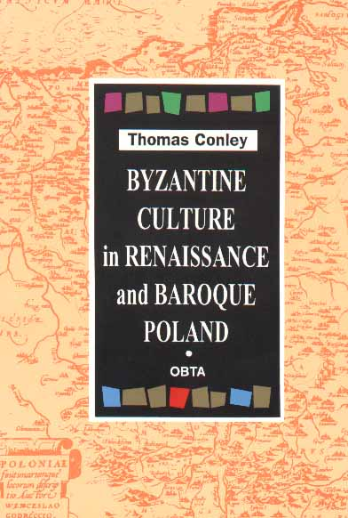Book Cover: Byzantine Culture in Renaissance and Baroque Poland