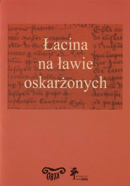Book Cover: Łacina na ławie oskarżonych
