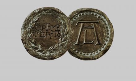 Medal OPTIME MERITO dla prof. Barbary Bokus