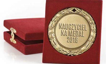 """Plebiscyt edukacyjny """"Nauczyciel na medal"""""""