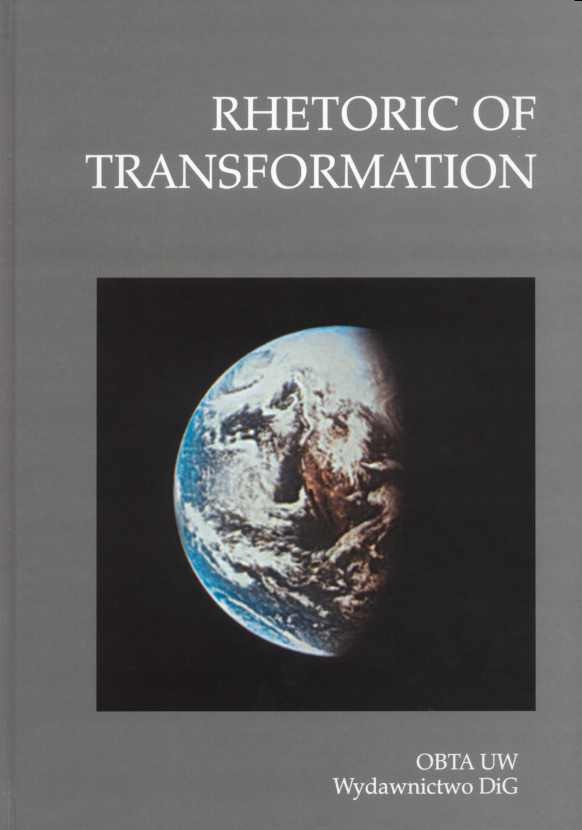 Book Cover: Rhetoric of Transformation