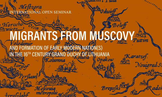 "International Open Seminar pt. ""Migrants from Muscovy…"""