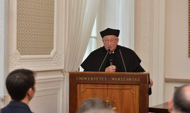 Odnowienie doktoratu prof. Jana Kieniewicza