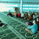 """Studentki Wydziału """"Artes Liberales"""" z wizytą w Ośrodku Kultury Muzułmańskiej"""