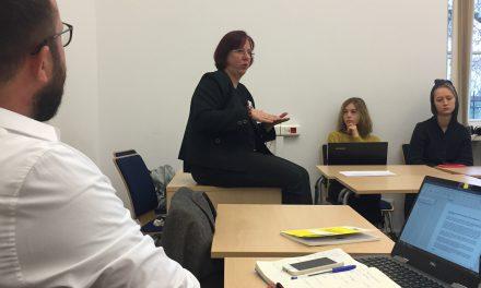 Spotkanie z prokurator Małgorzatą Szeroczyńską na temat przestępstw z nienawiści