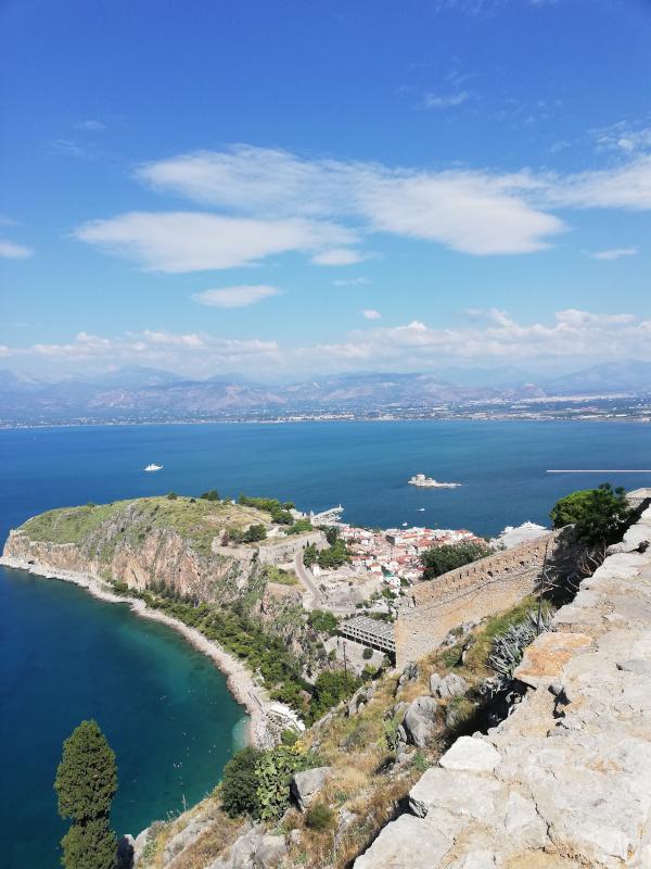 Nafplio na Peloponezie