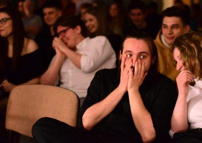 Publiczność scena otwarta