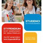 Stypendium m.st. Warszawy im. Jana Pawła II