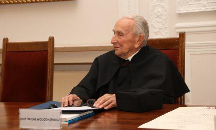 Uroczystość odnowienia doktoratu profesora Witolda Wołodkiewicza [zdjęcia]