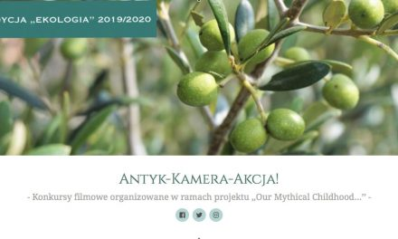 """""""Antyk – Kamera – Akcja!"""". III edycja konkursu"""