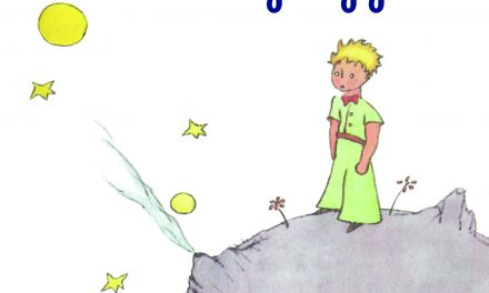 """Der Kliny Fjyśt"", or the ""Little Prince"" in the Wymysiöeryś language"