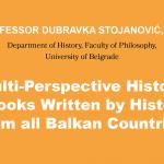 "Prof. Dubravka Stojanović: ""Multi-perspective History Textbooks…"""