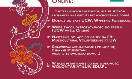 Wolontariat Wielokulturowy Online