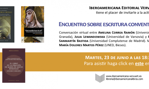23 czerwca: Encuentro sobre escritura conventual