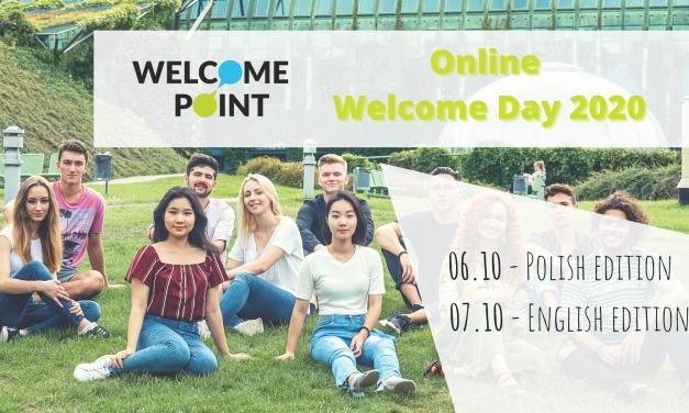 Online Welcome Week dla studentów zagranicznych