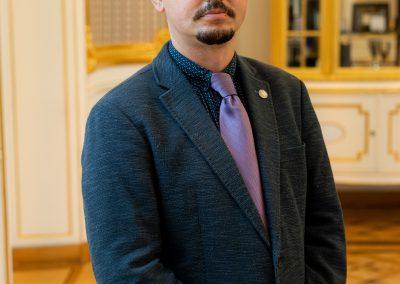 Uroczystość wręczenia nominacji prodziekanom ds. studenckich i dyrektorom ds. kształcenia, 2020; fot. Mirosław Kaźmierczak