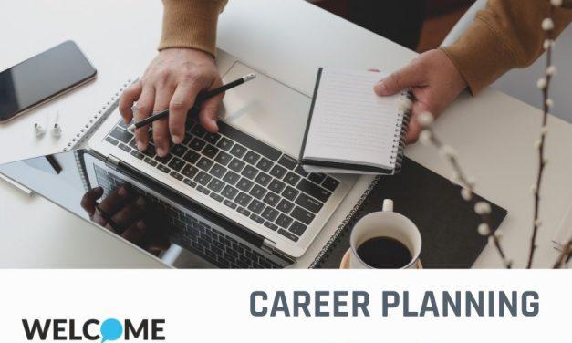 A new online workshops 'Career Planning'