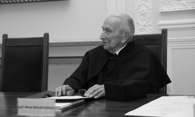 Prof. dr hab. Witold Wołodkiewicz (1929–2021)