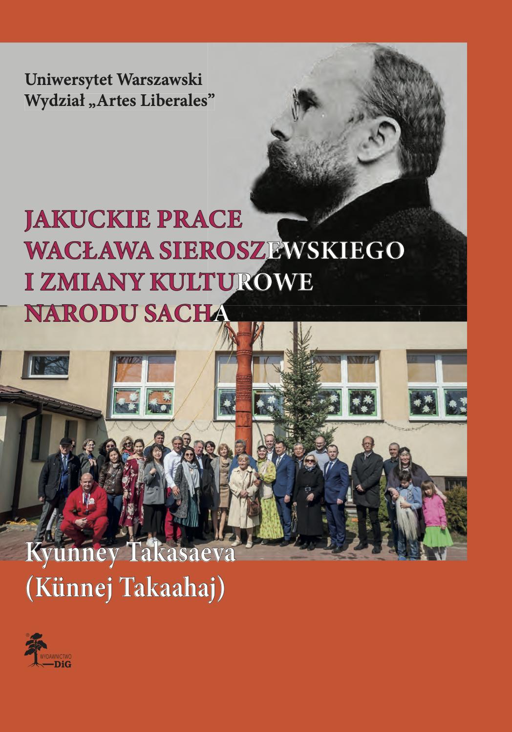 Book Cover: Jakuckie prace Wacława Sieroszewskiego i zmiany kulturowe narodu Sacha