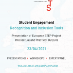 23 kwietnia: Konferencja Student Engagement – Recognition and Inclusion Tools