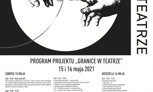 """Projekt """"Granice w teatrze"""" przeciw przemocy i nadużyciom w teatrze i szkolnictwie artystycznym"""