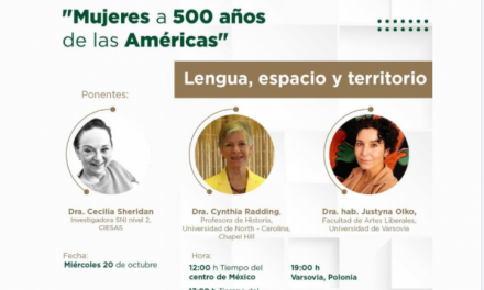 """Join us on October 20, 2021 the panel """"Lengua, espacio y territorio"""" (Language, Space, and Territory)"""