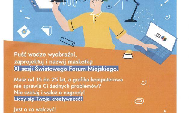 Konkurs na projekt maskotki WUF1